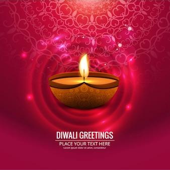 Fondo rosa decorativo de diwali