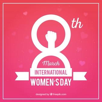 Fondo rosa del día Internacional de beso