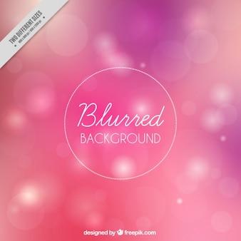 Fondo rosa desenfocado con efecto bokeh