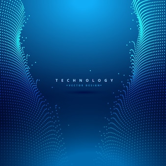 Fondo tecnológico azul