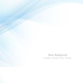 Fondo tecnológico con líneas onduladas azules