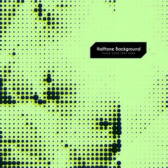 Fondo verde con puntos negros