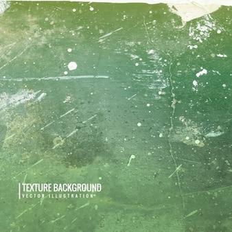Fondo verde texturizado en estilo grunge