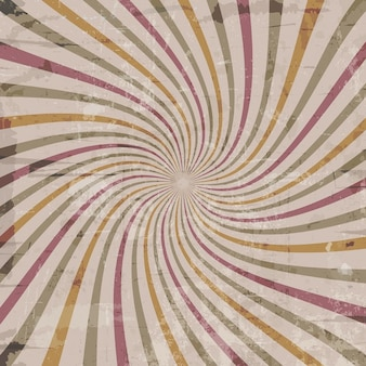 Fondo vintage con efecto starburst
