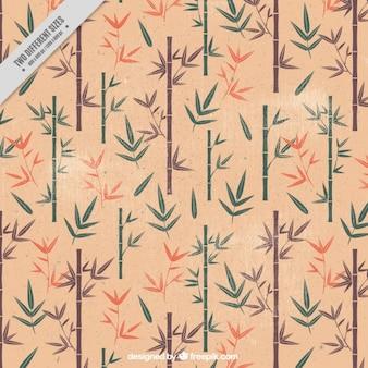 Fondo vintage de bamboo