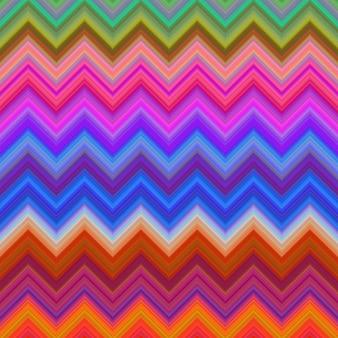 Fondo zig zag multicolor