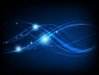 Fondos de escritorio violenta las ondas de flujo óptico