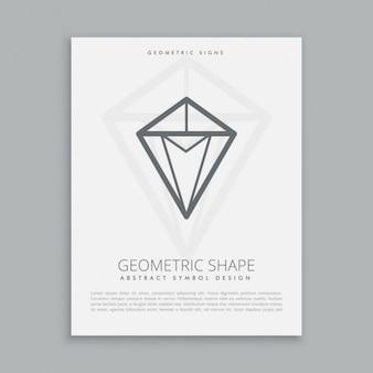 Forma de diamante
