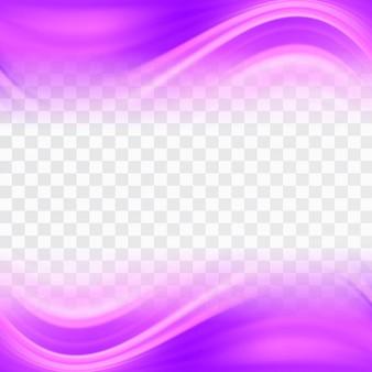 Formas onduladas con tonos rosas