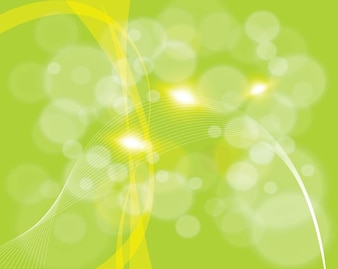 Formas verdes de fondo abstracto
