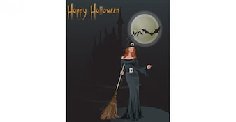 Free Vector de Halloween
