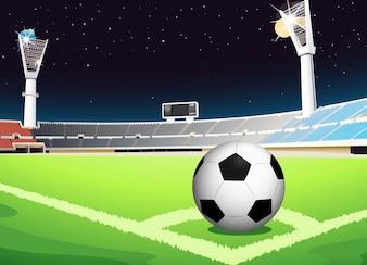Fútbol por la noche