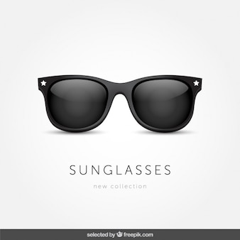 Gafas de sol aisladas