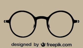 Gafas redondas vintage