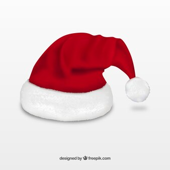 Gorro realista de Santa Claus
