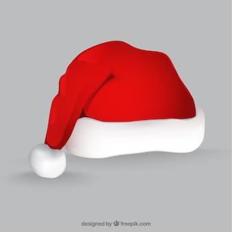 Gorro rojo de Papá Noel