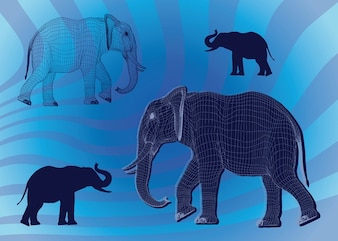 gráficos del elefante