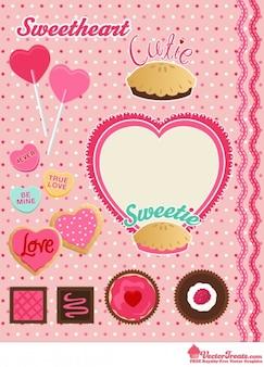 Gráficos vectoriales Sweetheart