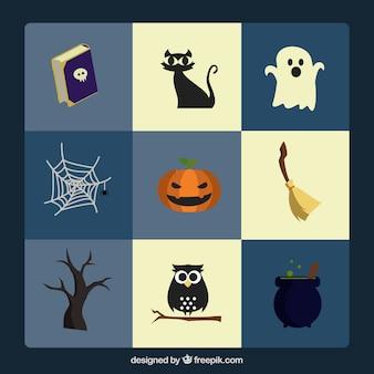 Gran colección de artículos para halloween