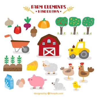 Granjero y accesorios de granja