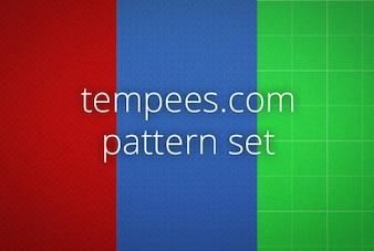Grunge patrón con líneas de color