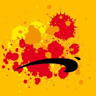 Salpicado pintura fotos y vectores gratis - Salpicaduras de pintura ...
