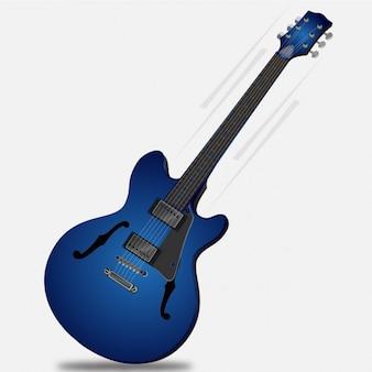 Guitarra eléctrica de música rock
