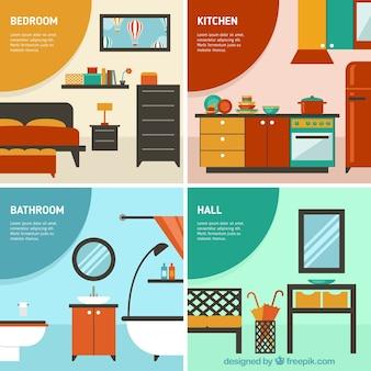 habitaciones en casa