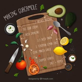 Haciendo guacamole