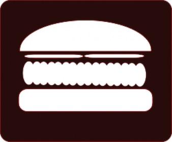 hamburguesa icono