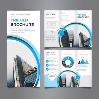 Hermoso folleto tríptico