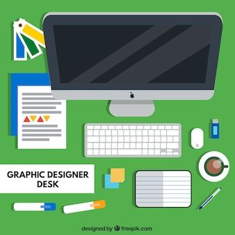 Herramientas de diseñador gráfico