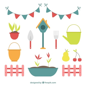 Iconos de jardineria fotos y vectores gratis for Elementos de jardineria