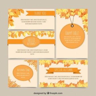 Hola otoño papelería