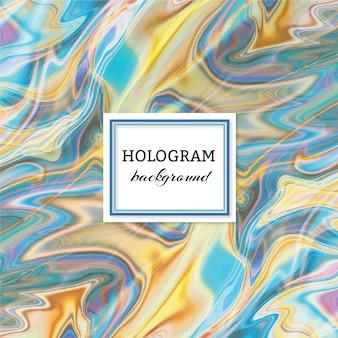 Holograma de fondo