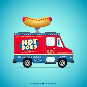 Hot dogs carrito