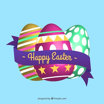 Huevos de Pascua realistas