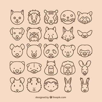 Iconos de animales