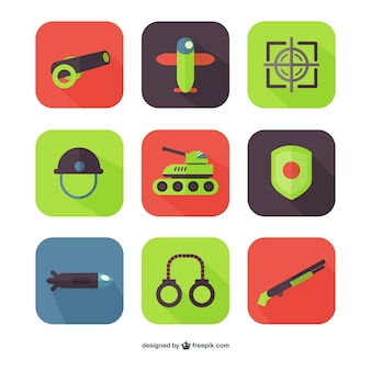 Iconos de armamento