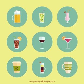 Iconos de bebidas alcohólicas