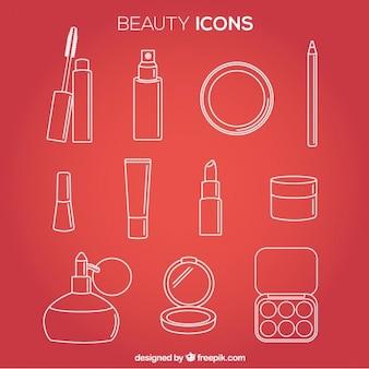 Iconos de belleza