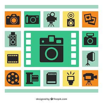Iconos de cámaras