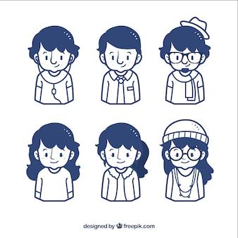 Iconos de chicos y chicas