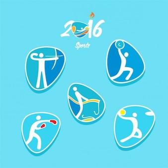 Iconos de olimpiadas de río