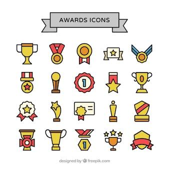Iconos de premios