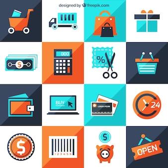 Iconos de tienda