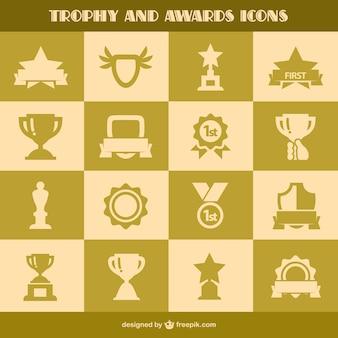 Iconos de trofeos e iconos