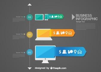 Iconos infográficos gratis