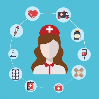 Iconos médicos y de salud
