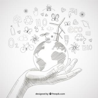 Iconos y objetos de ecología